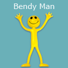 Bendy Men Available from Trainers' Market